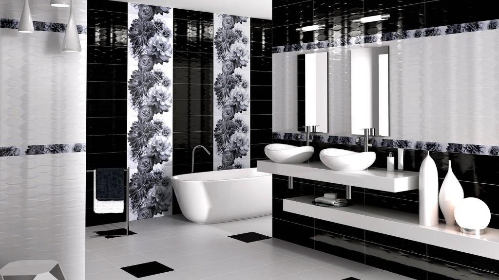 diseño cerámico baños modernos Noor Ceramics