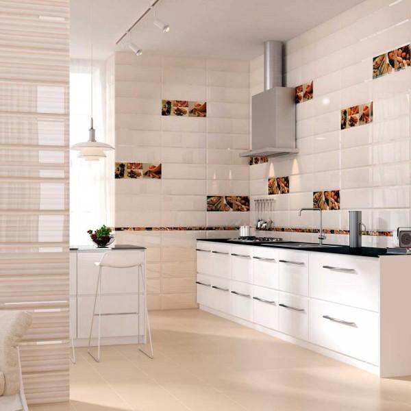 Diseño cerámico en revestimiento y pavimentos de cocinas NOOR Ceramics