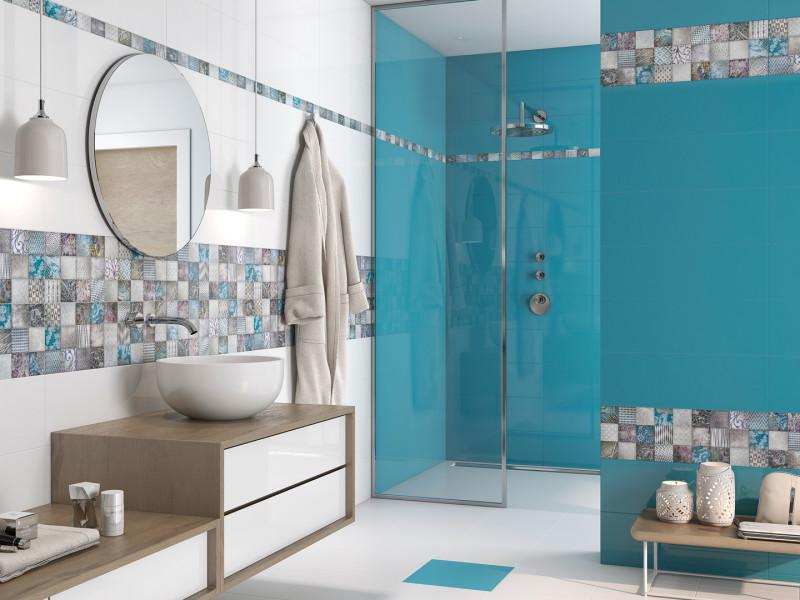 Diseño cerámico de baños modernos