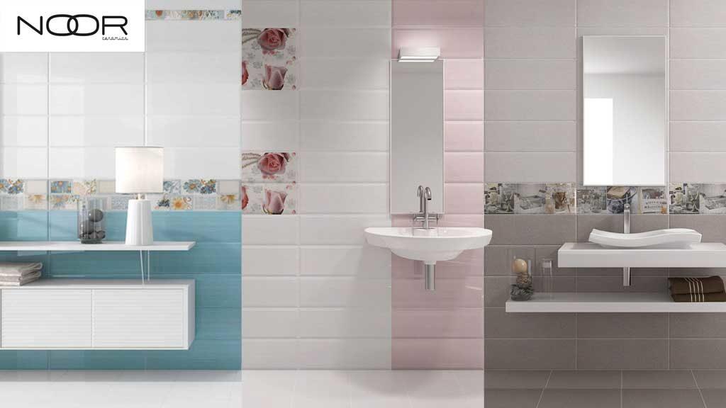 Faïences et dalles de sol pour salles de bains - MOON