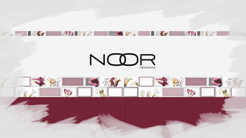 Los azulejos para el baño de Noor Ceramics